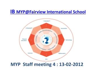 IB MYP@Fairview International School