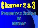 Property  States  of  Matter