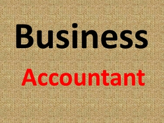Business Accountant is Essential for your Company