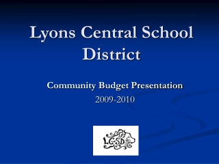 Lyons Central School District