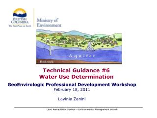 Technical Guidance #6 Water Use Determination
