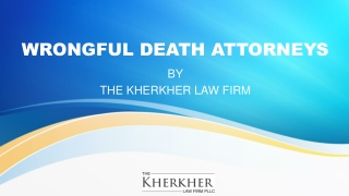 Free Consultation by Wrongful Death Attorneys Texas