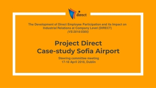 Project Direct Case-study Sofia Airport