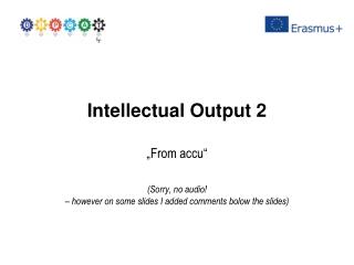 Intellectual Output 2