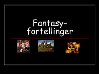 Fantasy-fortellinger