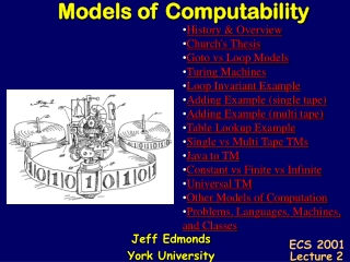 Jeff Edmonds York University