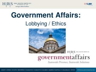 Government Affairs: