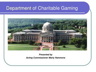 Department  of Charitable Gaming