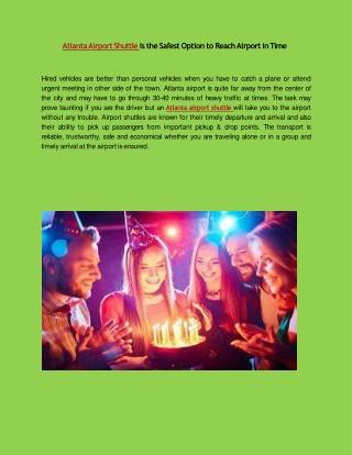 Atlanta party ride best services for limo rental service atlanta