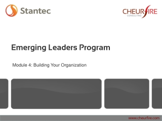 Building Your Organization