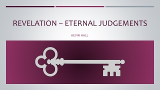 Revelation – Eternal Judgements