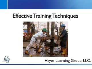 Effective Training Techniques