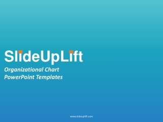 Organizational Charts PowerPoint Templates