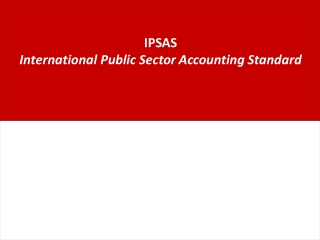 IPSAS International Public Sector Accounting Standard