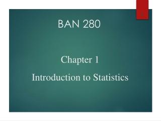 BAN 280