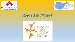 Rooted in Prayer