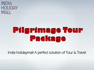 PilgrimageTour Package