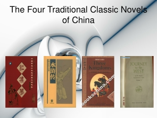 The Four Traditional Classic Novels of China