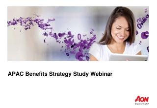 APAC Benefits Strategy Study Webinar