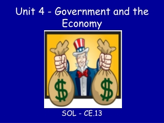 Government Influence in Economic Activity