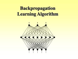 Backpropagation Learning Algorithm