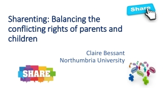 Sharenting: Balancing the conflicting rights of parents and children