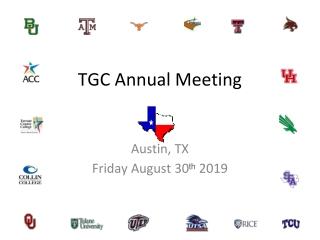 TGC Annual Meeting