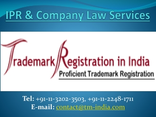 Ipr & Company Law Services Best Firm in Your DoorStep Now