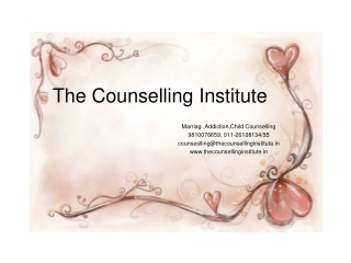 Counselling by best Counsellors