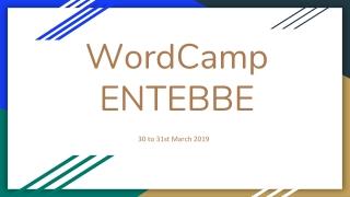 WordCamp ENTEBBE