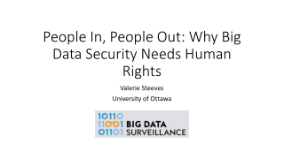 People In, People Out: Why Big Data Security Needs Human Rights