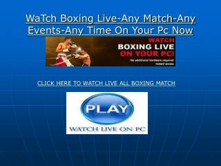3D Tv:Kick off!!Kevin Bizier vs Edgar Ruiz LIVE FREE STREAM