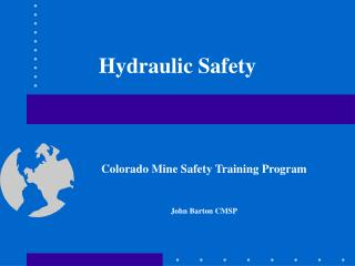 Hydraulic Safety