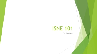 ISNE 101