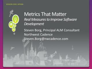 Metrics That Matter Real  Measures to Improve Software Development