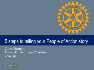 5 steps to telling your People of Action story