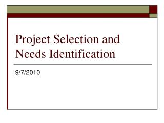 Lecture 2: Project Requirements