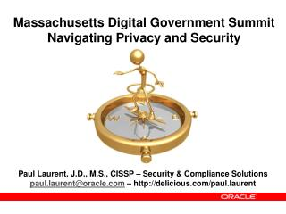 Massachusetts Digital Government Summit Navigating Privacy and Security