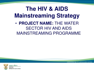 The HIV & AIDS Mainstreaming Strategy