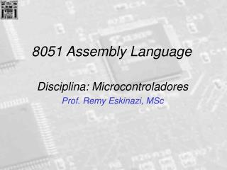8051 Assembly Language