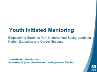 Youth Initiated Mentoring