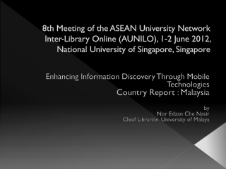 Enhancing Information Discovery Through Mobile Technologies