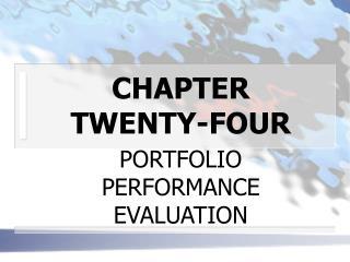 CHAPTER TWENTY-FOUR