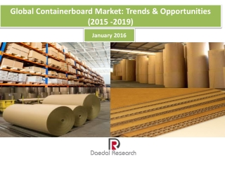 Global Containerboard Market : Trends & Opportunities ( 2015 -2019)
