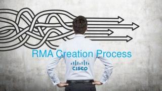 RMA Creation Process