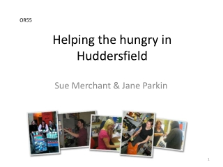 Helping the hungry in Huddersfield