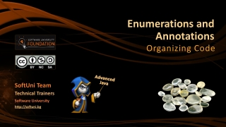 Enumerations and Annotations
