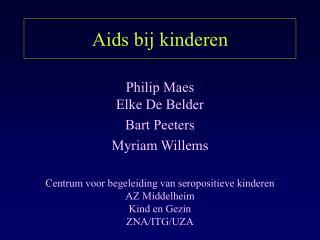 Aids bij kinderen