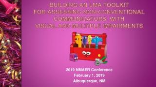 2019 NMAER Conference February 1, 2019 Albuquerque, NM