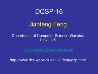 DCSP-16